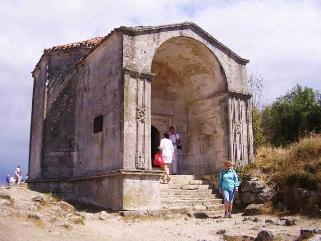 мавзолей дочери Тохтамыша Джаныке-ханым