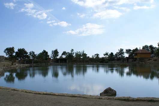 Вид Васильевского озера