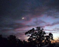 Ночное небо над мыс «Мартьяном»