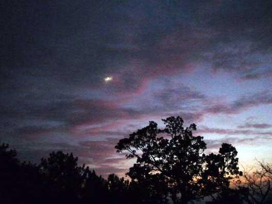 Ночное небо над мыс Мартьяном