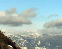 Ай-Петринская яйла зимой