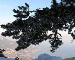 фото Ай-Петри зима