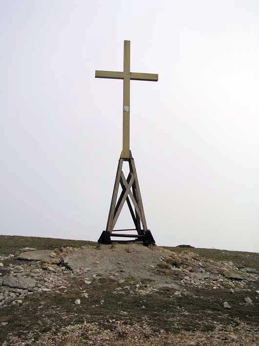крест на Ай-Петри