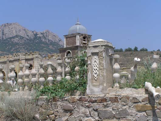 Остатки старого города