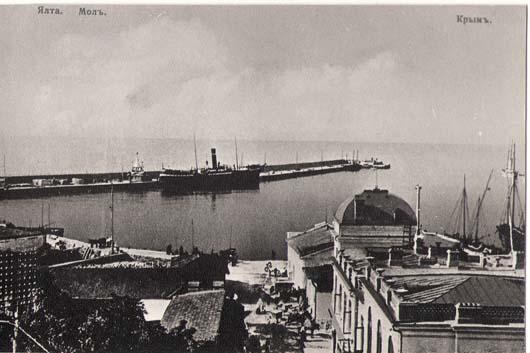 Мол в Ялтинском порту