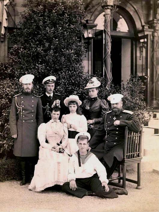 Царская семья. Ливадия 1893 год