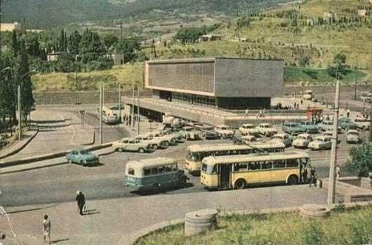 Ялтинский автовокзал при СССР
