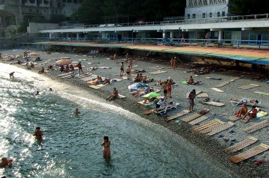 пляж санатория Парковый