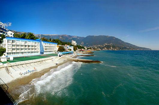 пляж отеля Красотель