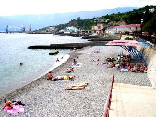 пляж санатория Прибрежный