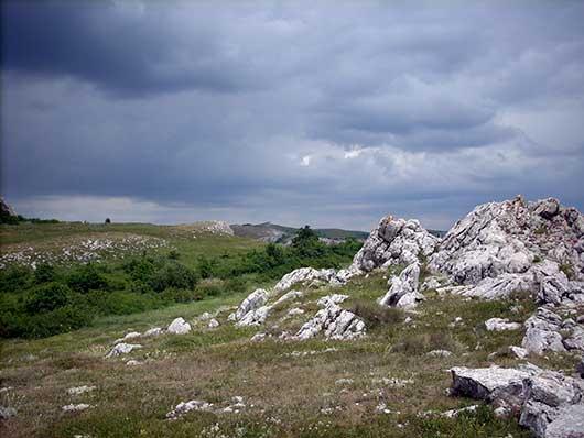 Крымские горы Демерджи