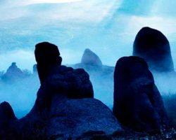 Долина приведений Демерджи ночь