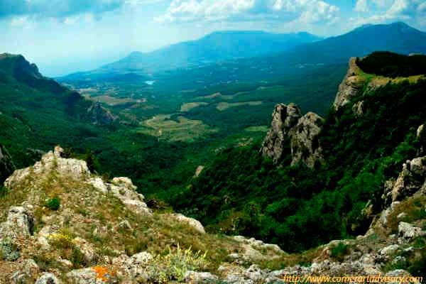 Вид долины