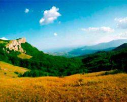 поход по маршруту Ангарский перевал — Демерджи