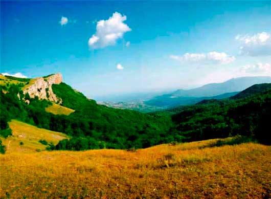 поход по маршруту Ангарский перевал - Демерджи