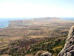 вид крымских пейзажей