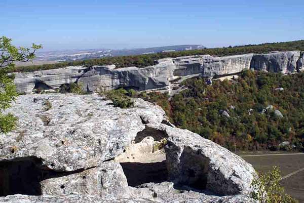 пещерный город мангуп-кале фото