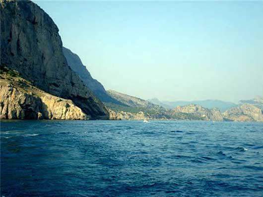 Морское побережье Крыма