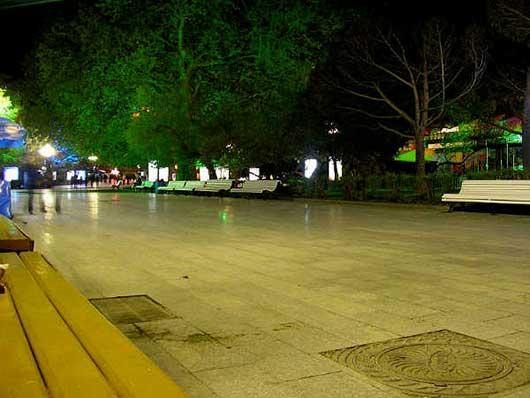Красота ночной набережной