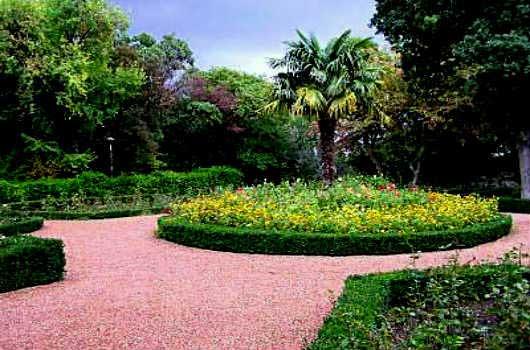 Парк санатория Нижняя Ореанда