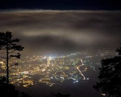 фото ночной Ялты
