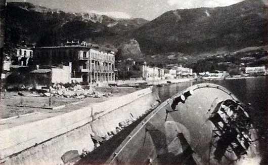 Ялта набережная во время ВОВ
