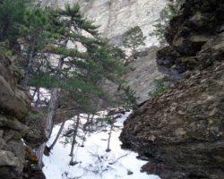 Таракташская тропа зимой фото
