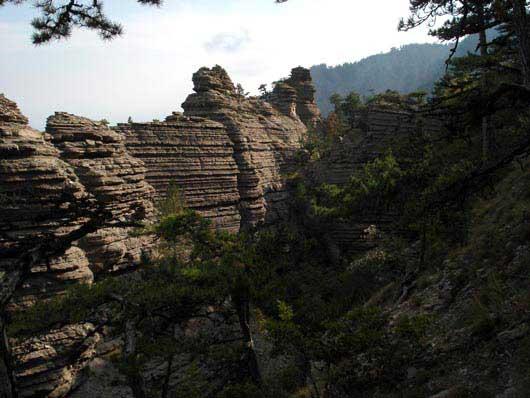 скалы Таракташ
