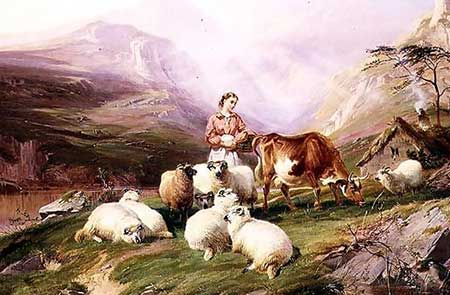 Скотоводство на южном берегу Крыма