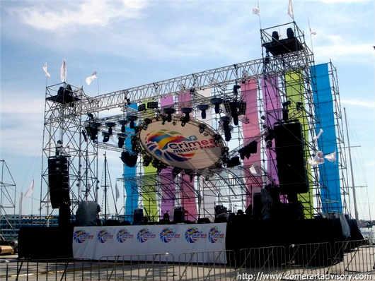 Фестиваль Крым Мьюзик на набережной