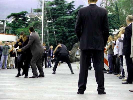 конкурс телохранителей на набережной