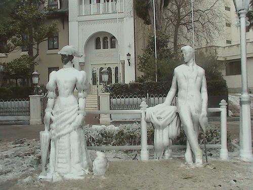 Зима на набережной