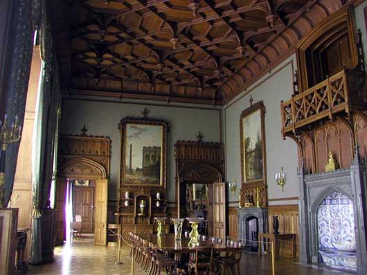 Внутри Воронцовского дворца