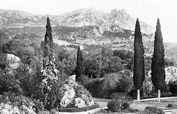 Вид горы Ай-Петри
