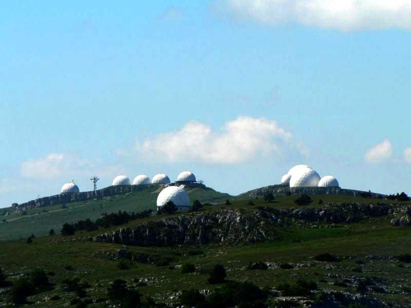 Купола на Ай-Петринском плато