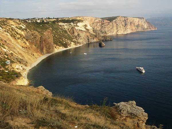 Пляж Балаклавы фото