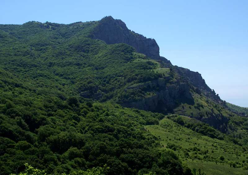 Гора Демерджи - маршрут