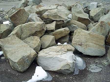 Добыча бутового камня