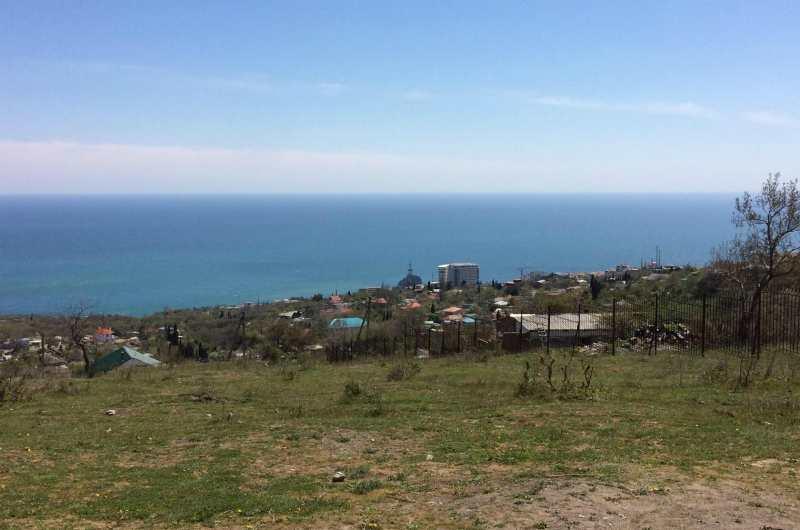 Вид на посёлок Краснокаменка
