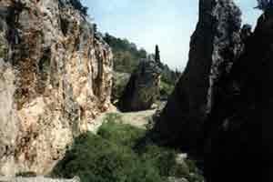 скалы в Никите