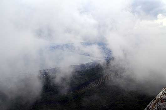 Туман над морем
