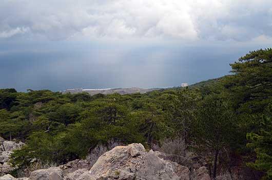 В горах над Никитой