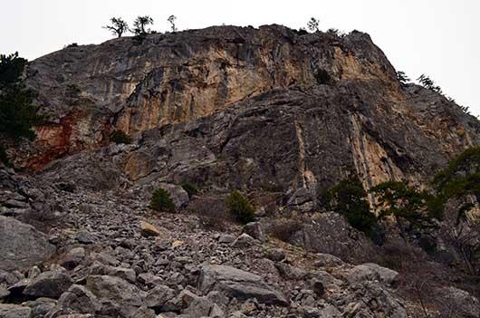 Горы на Никитой