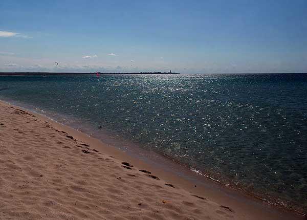 Тарханкут-пляж в Оленёвки