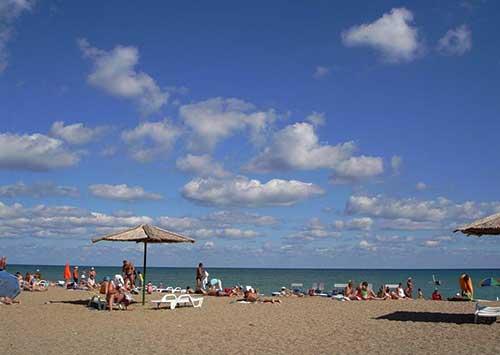 """Пляж """"Солнышко"""" - в Евпатории"""