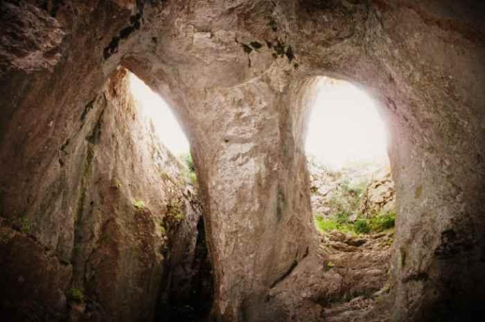 Глазницы пещеры Трёхглазки