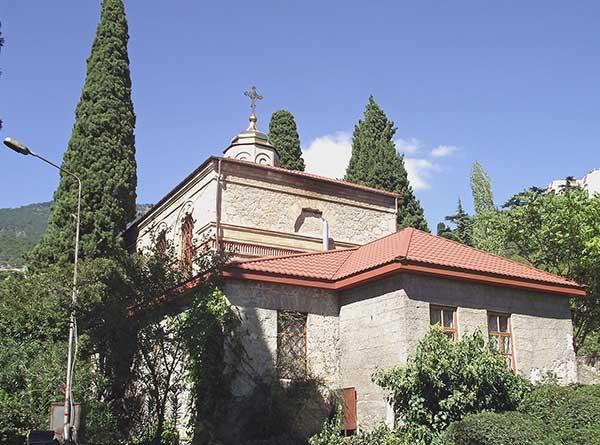 Церковь Преображения Господня пгт. Никита
