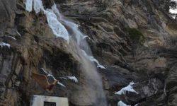 Застывший водопад Учан-Су