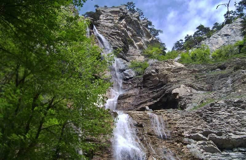 Водопад Учан-Су - летящая вода