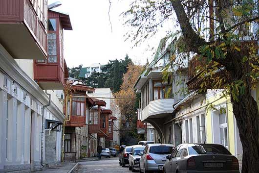 Улица Дражинского в Ялте